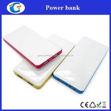 Promotion price advanced dual usb power bank 8000 mah