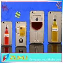 Sandglass Sand Time Clear Hard Case Cover For Apple iPhone 4
