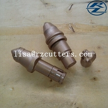 DS-01auger teeth with 19mm tungsten carbide tip/road heavy equipment rotary digging bits/pile driving machine parts