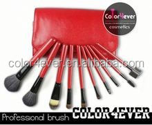 Manufacturer! nylon artist 10 pieces makeup brush set