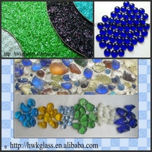 colorful decorative crushed glass /glass cullet