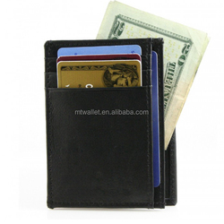 Leather Thin Weekend Wallet