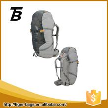 Outdoor sports back bag gray multifunction cheap nylon backpacks for men