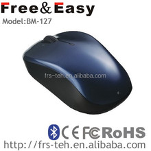 New style logo welcomed super computer wireless bluetooth mouse bluetooth3.0 compare wtih XP Win7 IOS(BM-127)