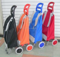 Shopping trolley bag high capacity canvas travel bag