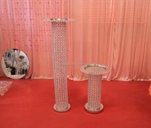 New design crystal wedding centerpiece, crystal wedding decoration