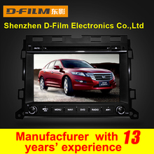 Digital touch screen car dvd gps for Honda Crosstour 2014 with navigation system touch screen bluetooth