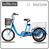 MOTORLIFE/OEM hot sale 36v 250w 20inch electric trike, erldly three wheel ebike