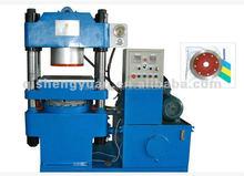 Chinelos de borracha que faz a máquina de vácuo placa de vulcanização máquina, automática de imprensa vulcanização máquina