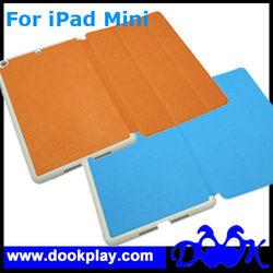 3-Fold Case Smart Cover for Mini iPad --- PU leather