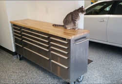 """72"""" 15 drawers functional heavy tool box /steel drawer cabinet"""