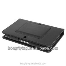 Black Keyboard Leather framed Case for 7 inches BlackBerry Playbook