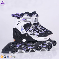 Lenwave Children Flashing inline skates 4 wheel roller Skating