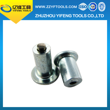 Tungsten Carbide Screw Ice tire Studs / ice racing car studs / antiskid spiral tire studs