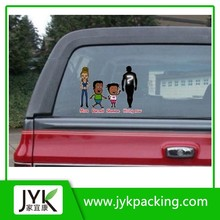 Family car window sticker decal/family car decals/funny car decals
