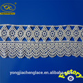 decorativo da flor de fita de algodão guarnição do laço