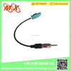 Hot sale car radio antenna coaxial connector adapter for fakra antenna adapter car audio cable