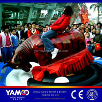 Cheap and super quality amusement mechanical rodeo bull ride