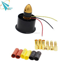 6-blade 55 mm rc ducated ventilador kit 2 com 2611-3500kv brushless motor