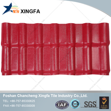 European glazed interlocking clay plastic roofing tile