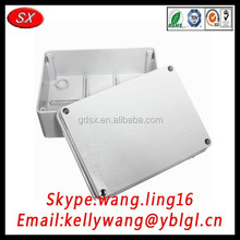 China factory custom electrical pvc junction box, waterproof aluminum junction box