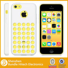 High quality no smell silicon rubber cell phone case cover for iphone 5c