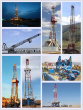 second hand oil well drilling, 1000 meters truck mounted workover oil rigs with diesel engine