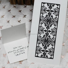 Popular cheapest branded western style wedding card