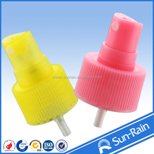 yuyao sunrain body mist spray 24/410 made in china(mainland)