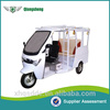 six-seated electric three wheel motorcycle with high quality and low price with CE certificate
