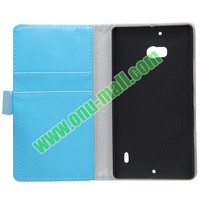 Crazy Horse Texture Wallet Pattern Leather case for nokia lumia 929