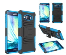 Rugged case, belt clip holster stand cover, armor with holster case for galaxy A7
