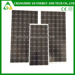 150W 100% TUV standard mono pv solar cell panel solar for home use