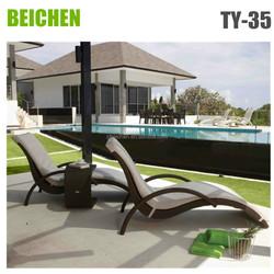 BEICHEN wicker furniture outdoor lounge bed