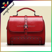 2015 french designer leather handbags,Fashion leather shoulder bags women