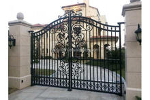 modern wrought iron gate directly from factory