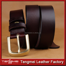 Factory Sale Latest fashion leather Buckle belt for man