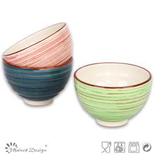 hand painted designed home family decor ceramic bowl