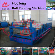 Automatic double layer roll forming corrugation machine