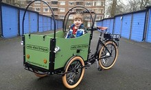 CE approved electric dutch cargo bike for toddlers