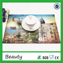 PP Table placemat /plastic placemat /polypropylene Table mat