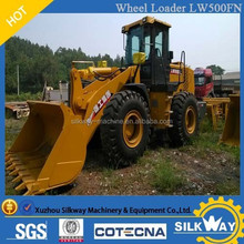 Hot sale China supplier XCMG 5ton engineering machine front loader wheel loader LW500FN