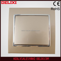 High quality DELIXI W-T80K2 European standard electrical remote control wall switch