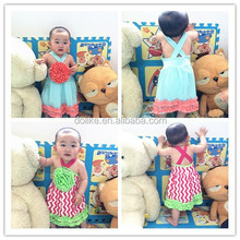 wholesale cute little girls dresses toddler dresses with flower baby dress