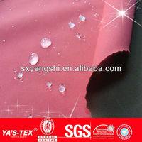 100%nylon taffeta mesh/TPU bonding waterproof brushed woven fabric