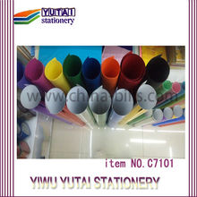 Professionnal Paper for party or artificial flowers brilliant color paper