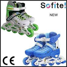 China manufacturer adjustable inline skating shoes inline roller skate sport shoes