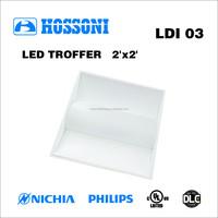 UL DLC approved 49W 600x600mm led ceiling light 5 years warranty LDI03 2X2