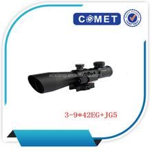 Popular Model! 3-9x42E+JG5Eriflescope,optical riflescope with laser,tactical shooting prismatic riflescope