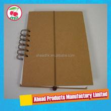 Custom Wire O zipper bag paper notebook